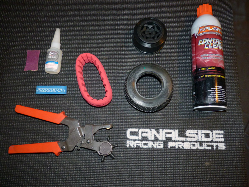 how to use tire glue bands