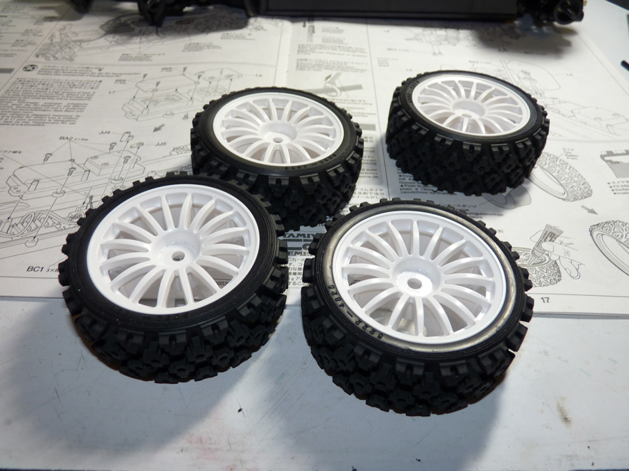 Tamiya XV-01 Pro Chassis Build Up w/ Impreza WRX STI body ...