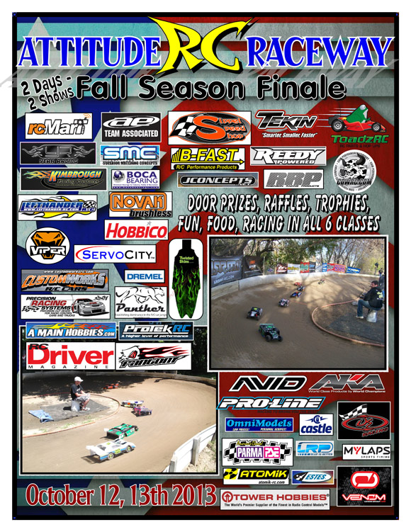 Fall Season Finale race @ Attitude R/C Raceway | RC Soup