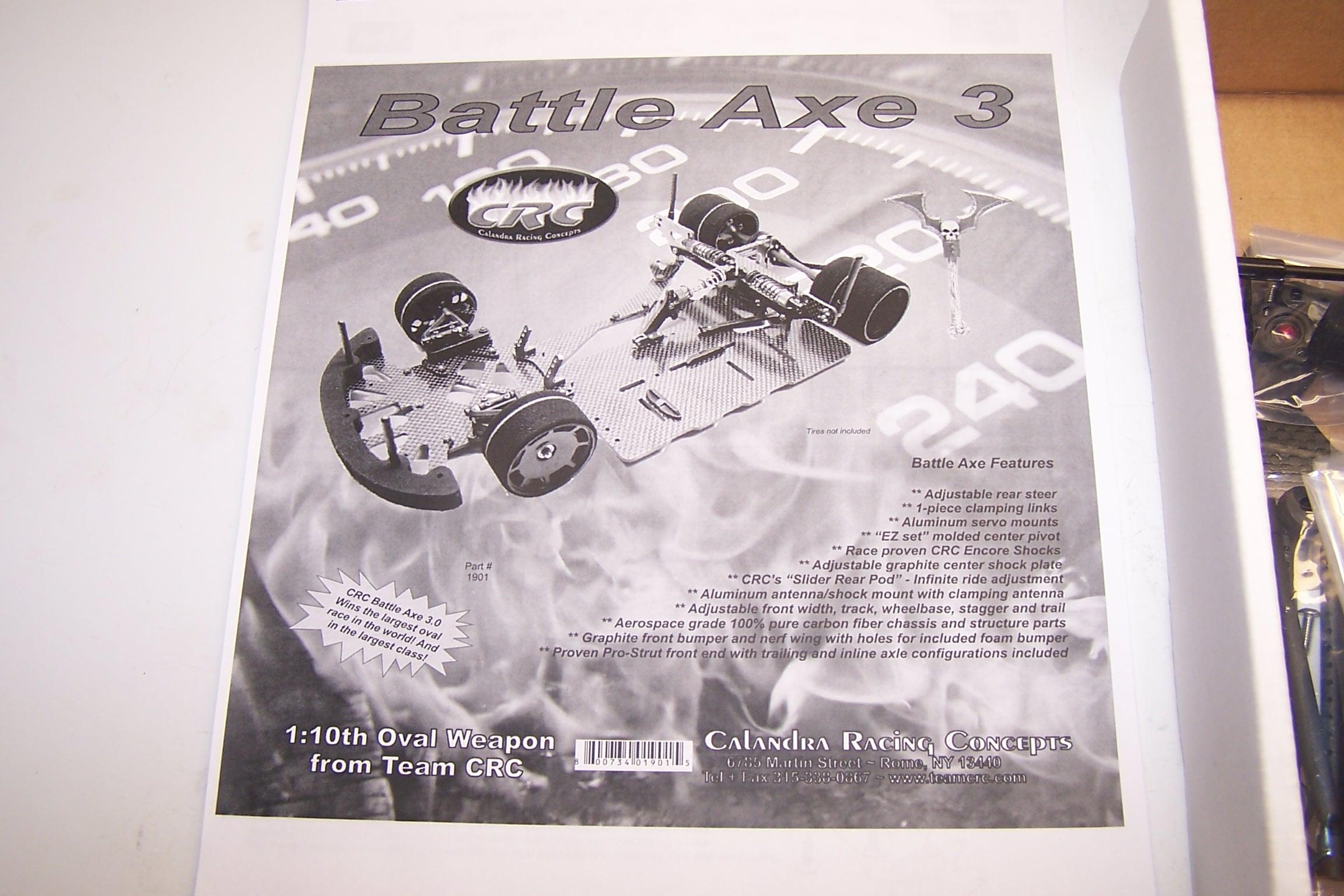 Crc Battle Axe 3 0 Carpet Oval Car Build Up Rc Soup