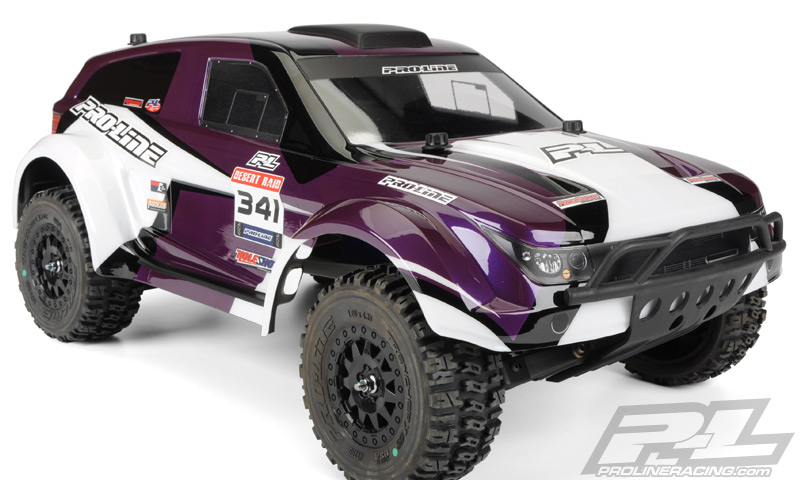 Pro-Line Desert Raid Clear Body For PRO-2 SC, Slash, Slash