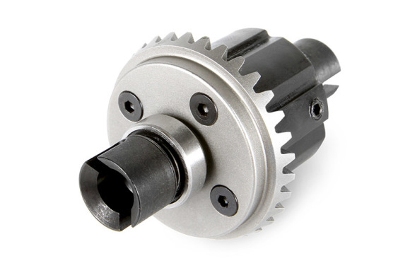 CNC METAL CUT GEARS Massive brushless power requires heavy duty drivetrain components. The Yeti XL™ features hardened steel CNC cut metal gears in both the front and rear differentials for the ultimate in strength and durability.