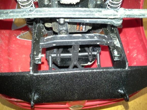 front bumper under body