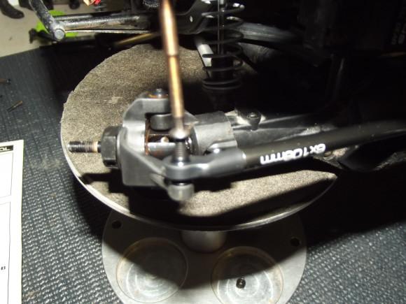 steering link mounting 2