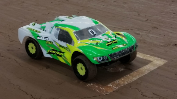 Alex Krieg's SCX – 61 on the A Main grid