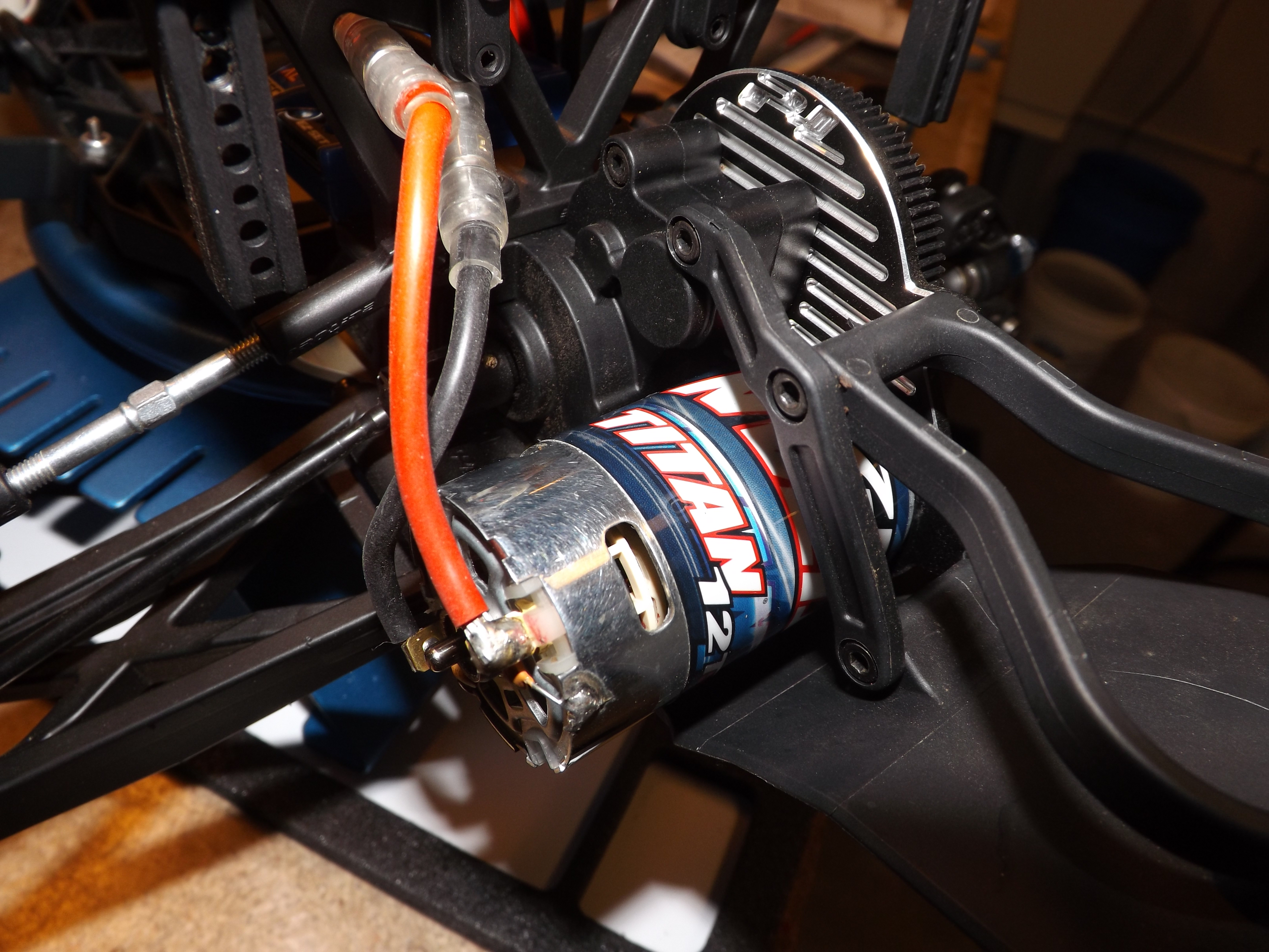 The Titan 12t Motor can be used in almost any RC truck as long as you have a brushed ESC that will work with it. Most use the Traxxas ESC's with it.