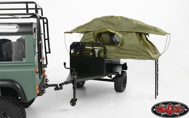 Innovative Review Bivouac Camping Trailers MOAB Overland Trailer OffRoad